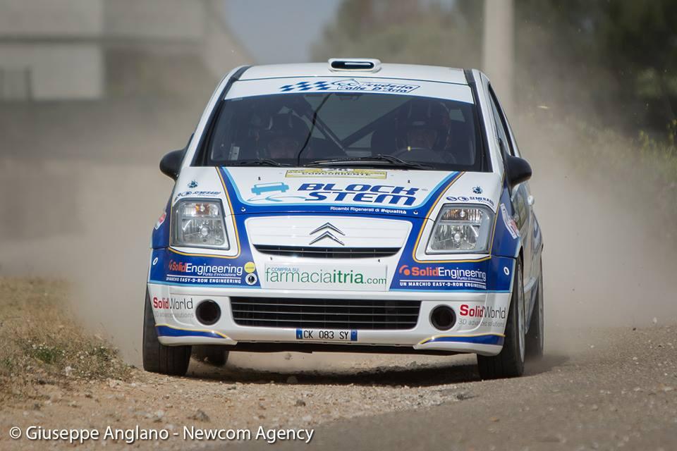 24° Rally Città di Casarano con epilogo non felice per la Scuderia Valle D'Itria - Scuderia Valle D\'Itria pilotare per passione